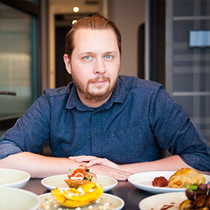 Chef Stephen La Salle - Feast + Revel at Andaz Hotel