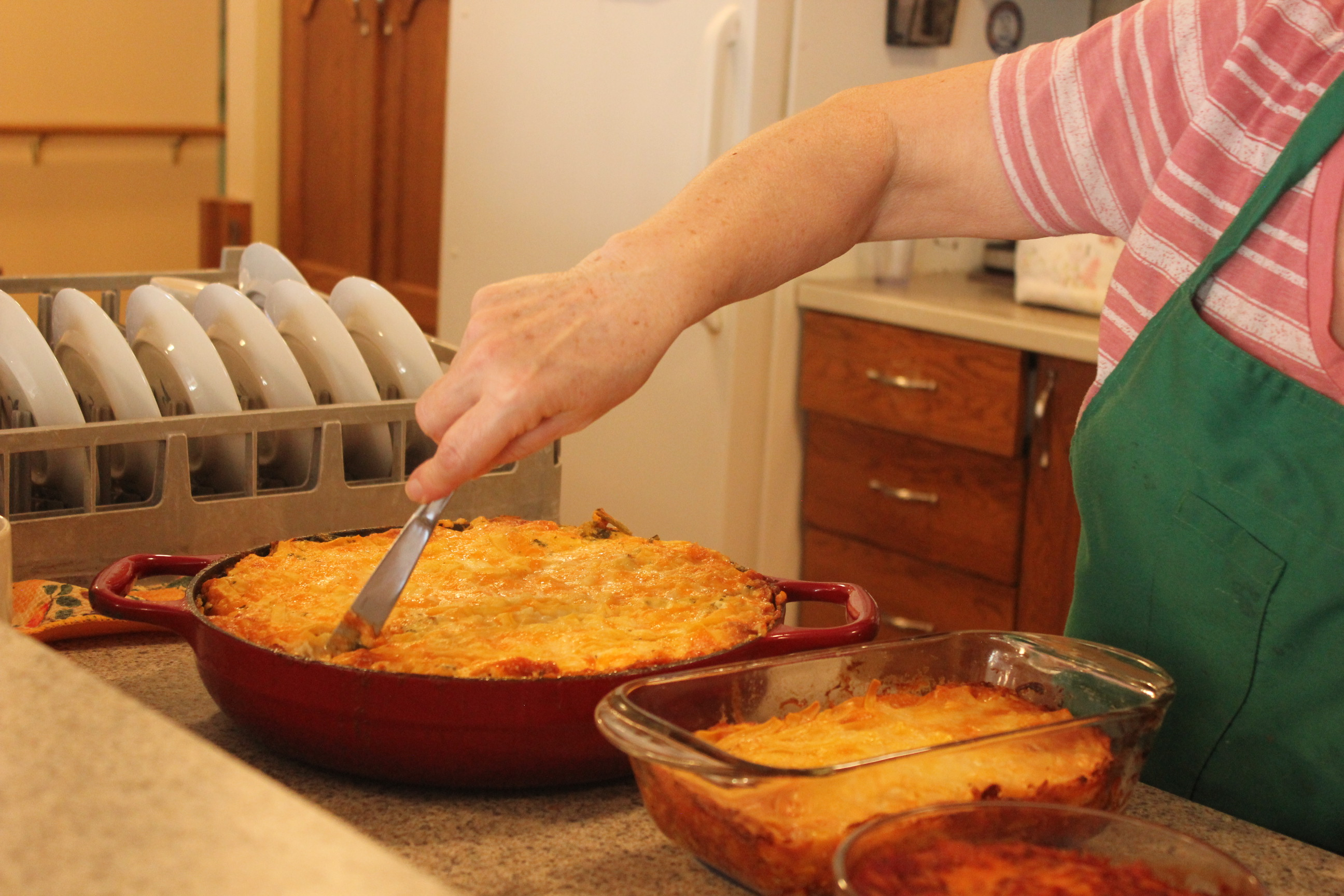 Home-cooked meals at Richmond Care Home.