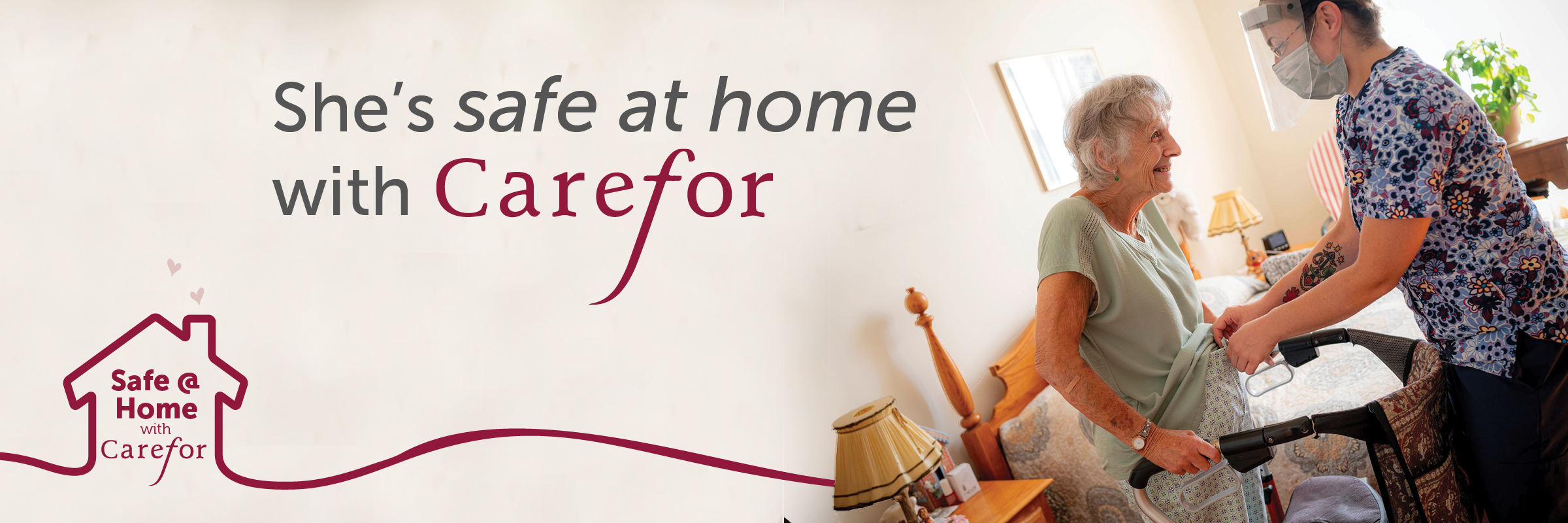 Carefor has been keeping people safe at home since 1897.